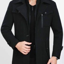 Hafzan Winter Coat of jamesbond design
